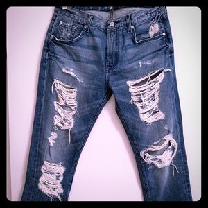 7 for all mankind skinny boyfriend jeans
